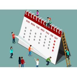 Друк календарів